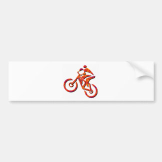 Bike Brother Man Bumper Sticker