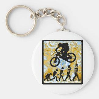 Bike Bryce Canyon Basic Round Button Keychain