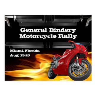 Bike Burner Postcard