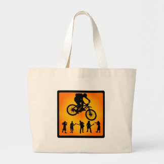 Bike By Days Tote Bags