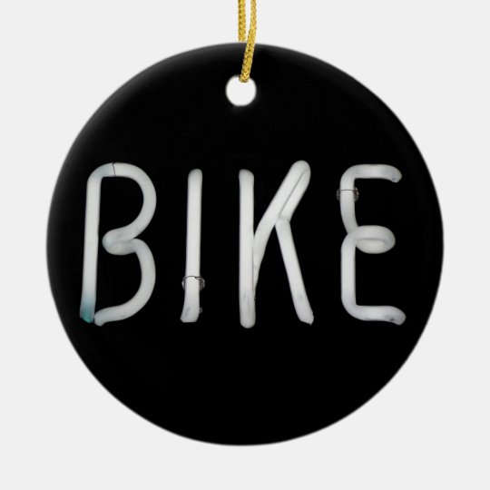 Bike Ceramic Ornament