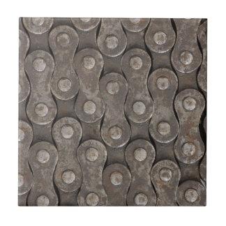 Bike Chain Background Tile