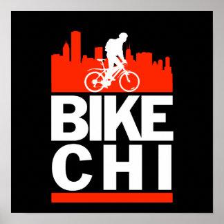 Bike Chicago Poster