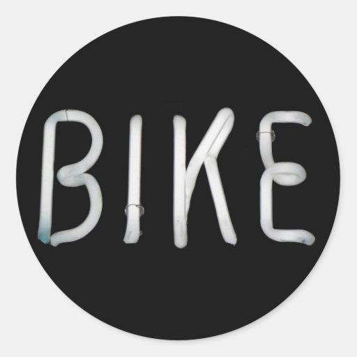 Bike Classic Round Sticker