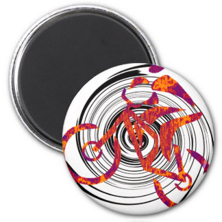 Bike complete Rotation 2 Inch Round Magnet