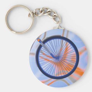Bike Cycle - Bicycle Wheel Keychain