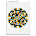 Bike Cycling Bicycle Greeting Card