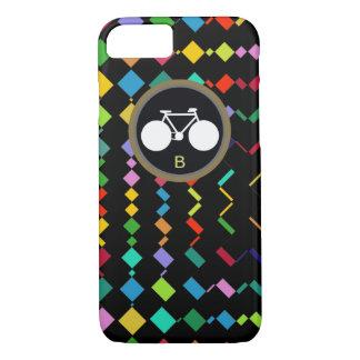bike + cycling + biking colorful iPhone 8/7 case
