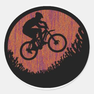Bike Dapper Dandy Classic Round Sticker