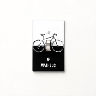 bike dark / light ~ cycle on / off switch plate covers