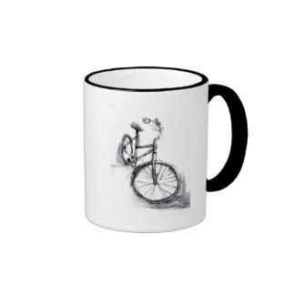 Bike Dawing Coffee Mug