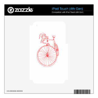 Bike Decal For iPod Touch 4G