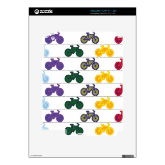 Bike Decals For The iPad 2
