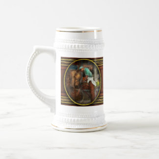 Bike - Delivering groceries 1938 Beer Stein