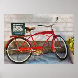 Bike - Delivery Bike Posters