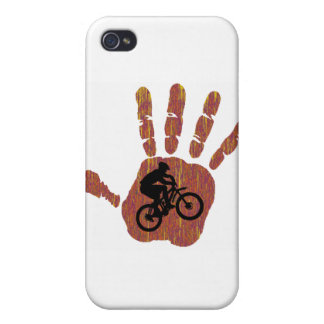 Bike Desert Stretch Cases For iPhone 4