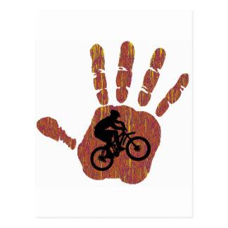 Bike Desert Stretch Postcard