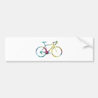 Bike Design Bumper Sticker