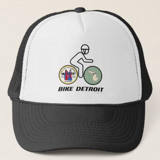 Bike Detroit baby Trucker Hat