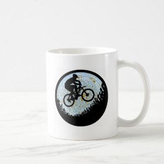 Bike Distant Maze Coffee Mugs