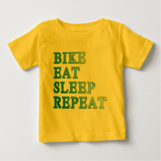 Bike, Eat, Sleep, Repeat Products Baby T-Shirt