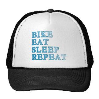 Bike, Eat, Sleep, Repeat Products Mesh Hat