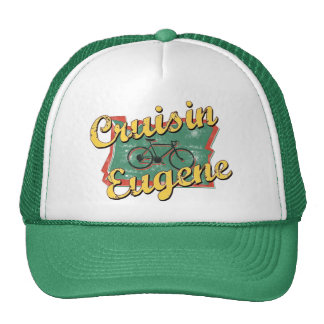 Bike Eugene Cruise Oregon Trucker Hat