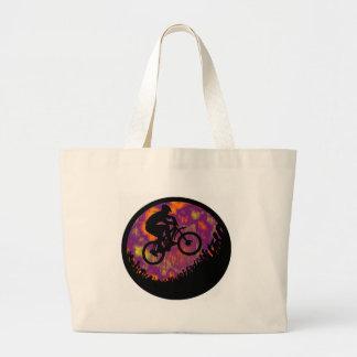 bike evening cruise tote bags