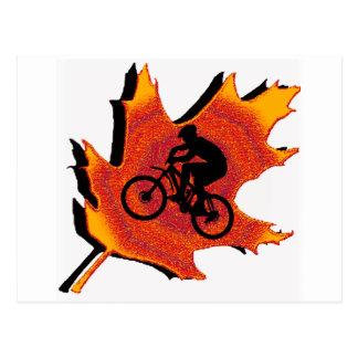 Bike ever change postcard