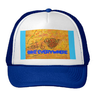 Bike Everywhere Trucker Hat