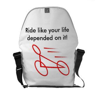 Bike for Life messenger bag