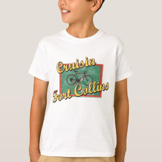 Bike Fort Collins Bicycle Colorado T-Shirt