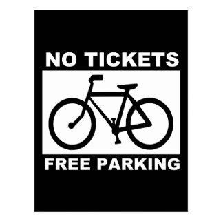 bike_free_parking_Vector_Clipart Postcard