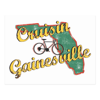 Bike Gainesville Bicycle Florida Postcard