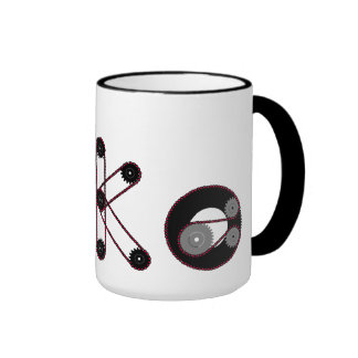 Bike Gear Ringer Coffee Mug