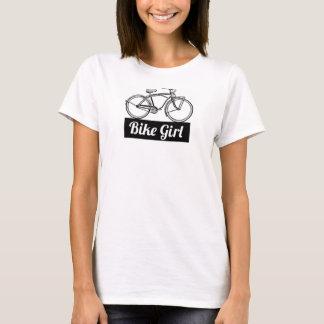 Bike Girl Retro Tee