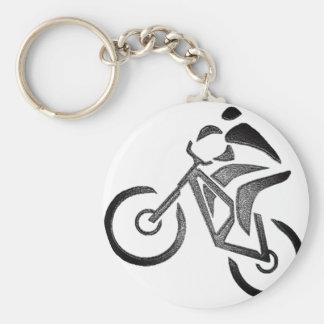 Bike Glow Style Keychain