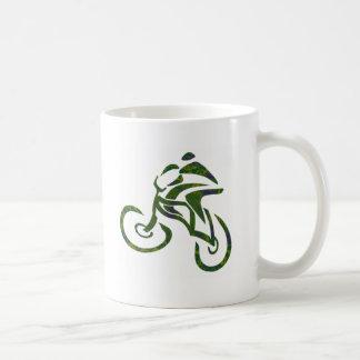 Bike Green Fields Coffee Mug