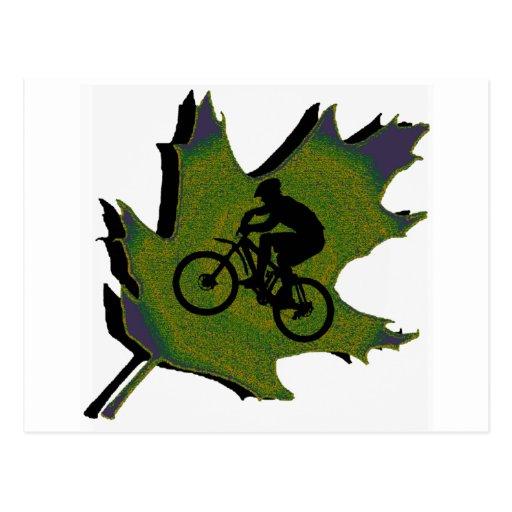Bike Greener Destiny Post Card