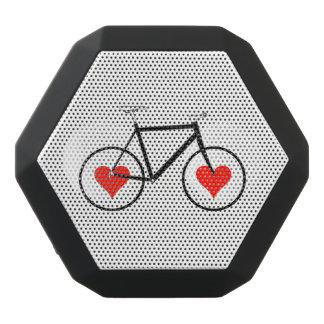 Bike Heart Wheels Black Bluetooth Speaker