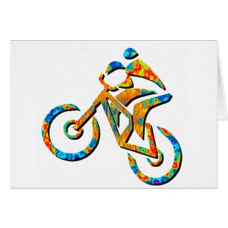 Bike Heel Stoned Card