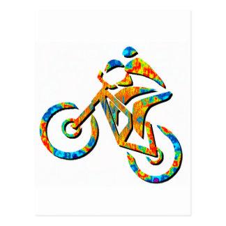 Bike Heel Stoned Post Cards