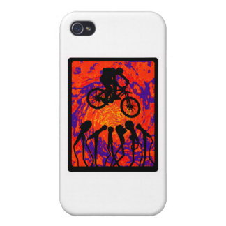 Bike Hidden Trail Cover For iPhone 4