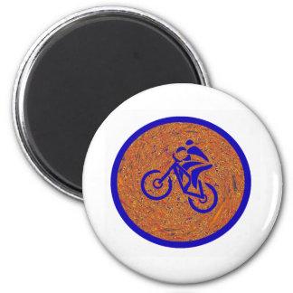 Bike Hide Seeker 2 Inch Round Magnet