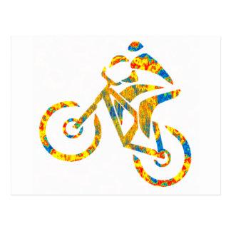 Bike Hip Droned Postcard