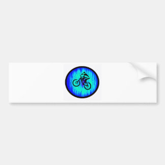 bike Home Base Car Bumper Sticker