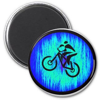 bike Home Base 2 Inch Round Magnet