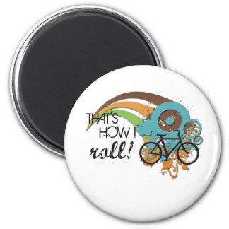 Bike How I Roll Magnets