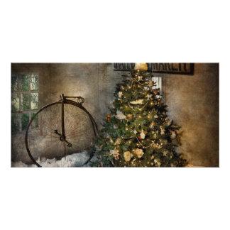 Bike - I wanna bike for Christmas Photo Card