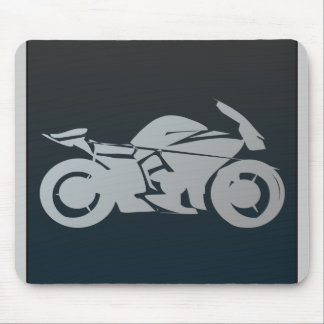 bike_icon_Vector_Clipart MOTORCYCLE MOTORBIKE STRE Mouse Pad